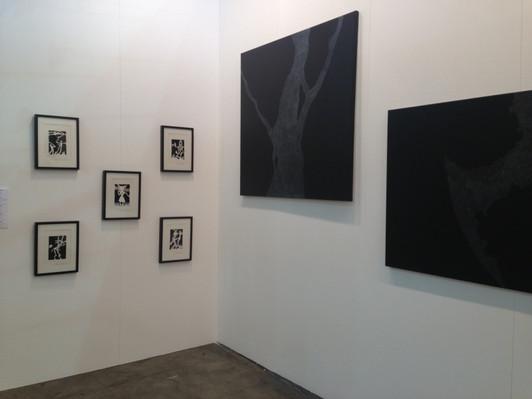 Стенд галереи «Триумф» на ярмарке Artissima 2013 Вид на экспозицию