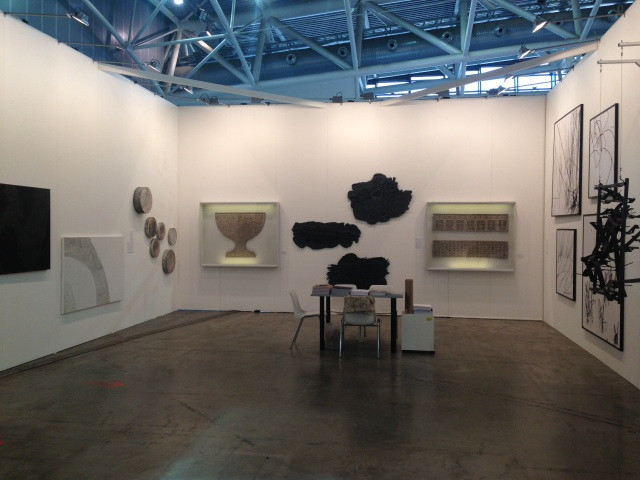 """""""Triumph"""" Gallery booth at Artissima 2013 Exposition view"""