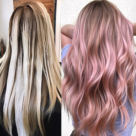BehindTheChair - Rose Blush Balayage