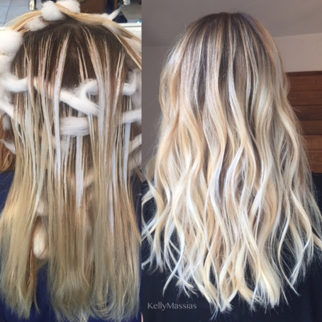 Modern Salon - Balayage For A Perfect Rooty Blonde
