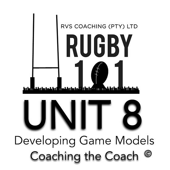 Coaching the Coach - UNIT8