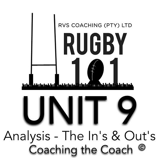 Coaching the Coach - UNIT 9