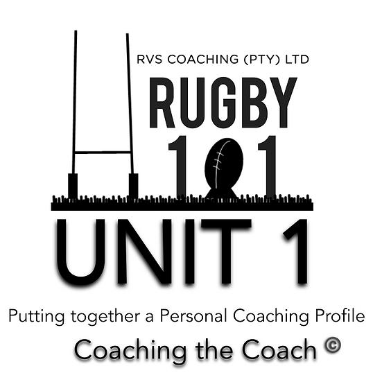 Coaching the Coach - UNIT 1