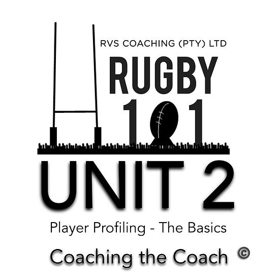 Coaching the Coach - UNIT 2