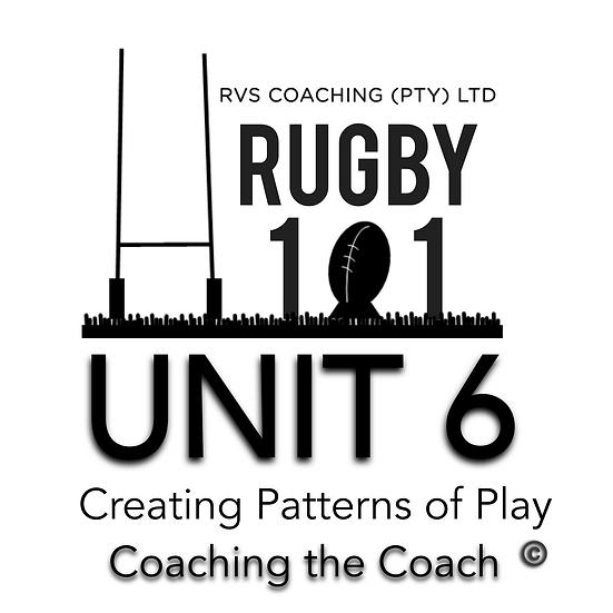 Coaching the Coach - UNIT 6