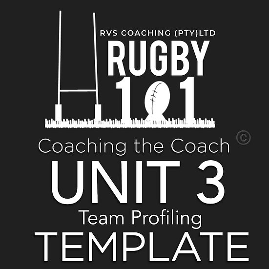Coaching the Coach - UNIT 3 Team Profile TEMPLATE
