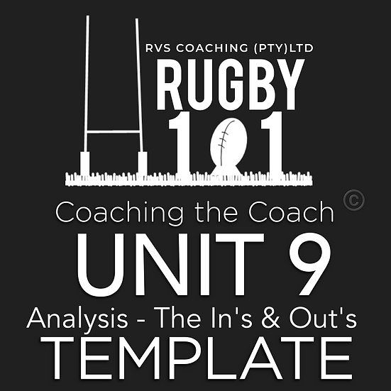 Coaching the Coach - UNIT 9 Analysis - In's and Out's TEMPLATE