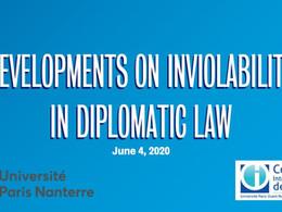 Conférence du D.U. Collège international du droit