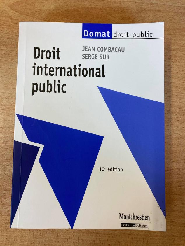 Droit international public (Domat) — 10 €