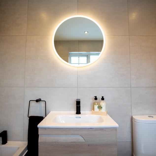 Bathroom Sink And Mirror