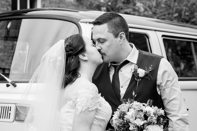 Andy & Claire - VW Black And White