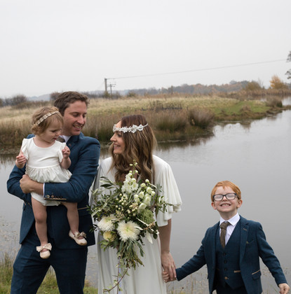 Amy And Chris Wedding - Happy Family