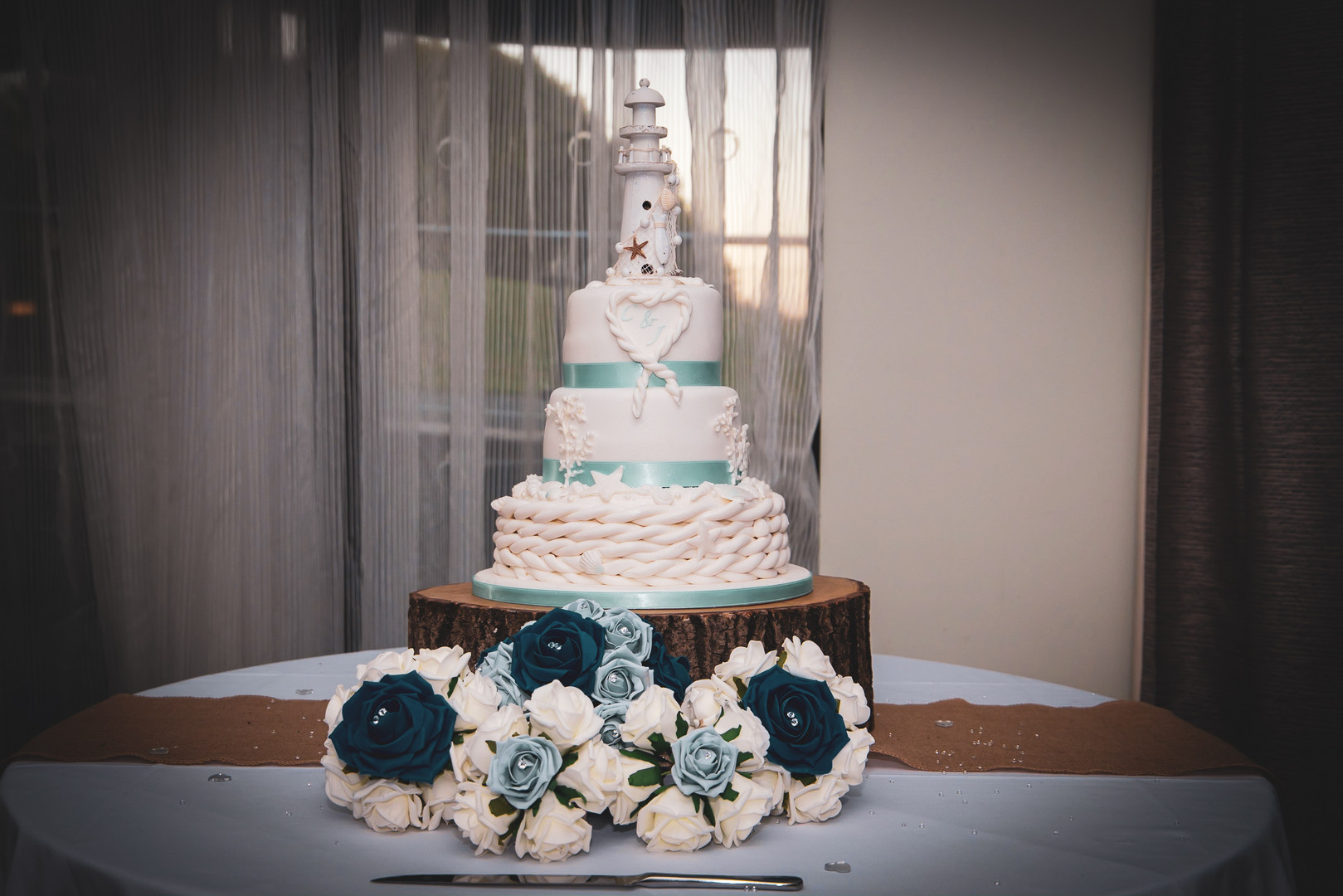 Jessica And Chris - The Wedding Cake