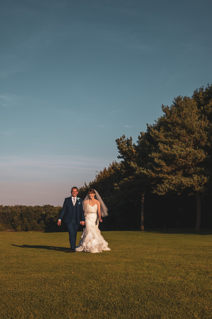 Jessica And Chris - Walking The Fairway
