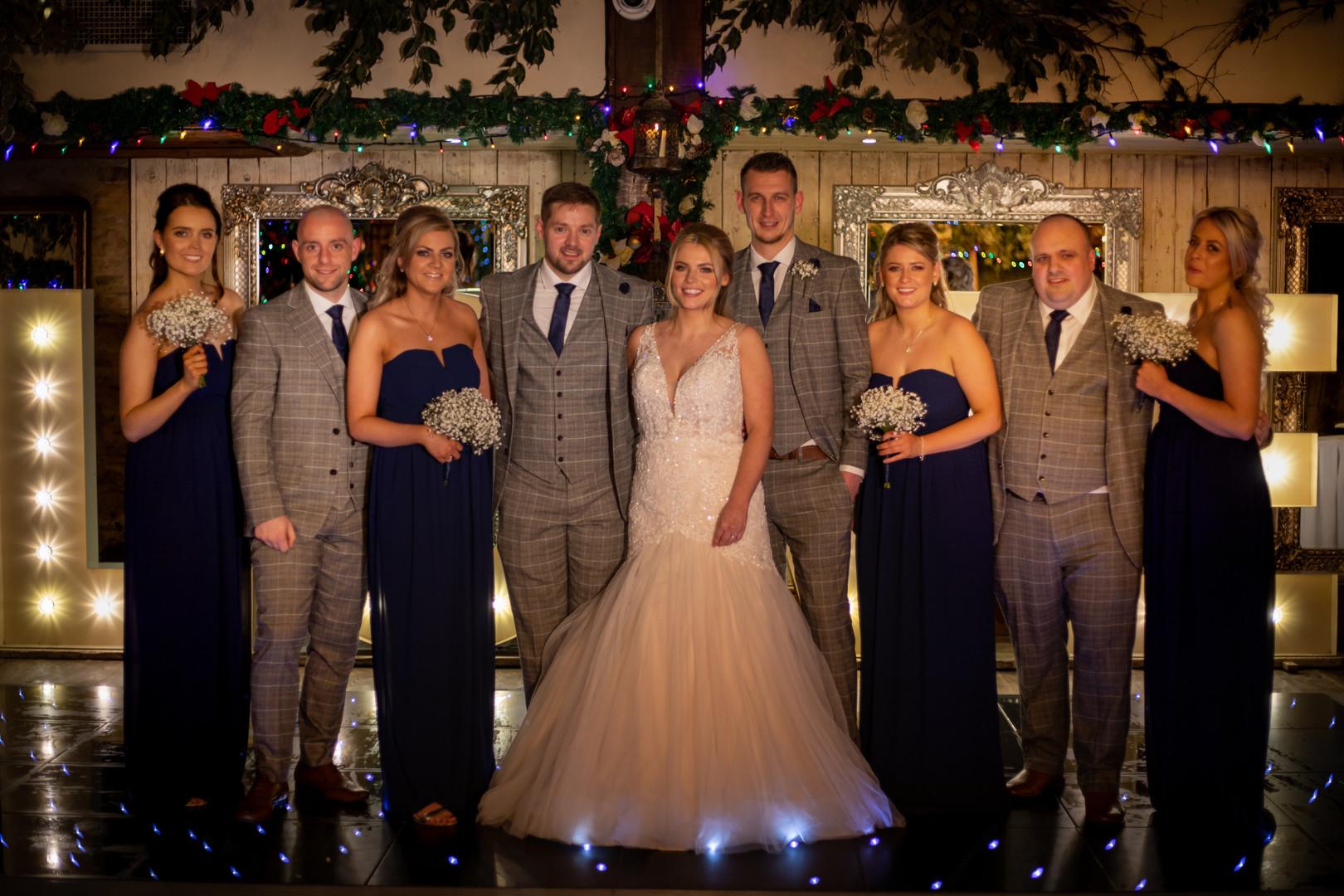 Damien And Gemma - Bestmen And Bridesmaids