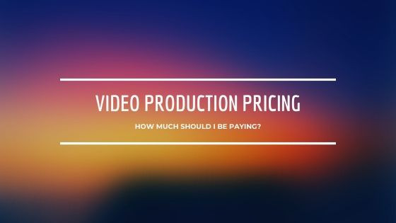HOW MUCH SHOULD I BE PAYING FOR A PROMOTIONAL VIDEO?
