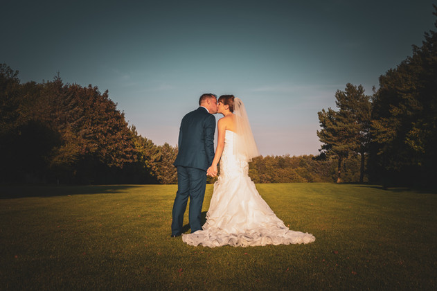 Jessica And Chris - On The Fairway