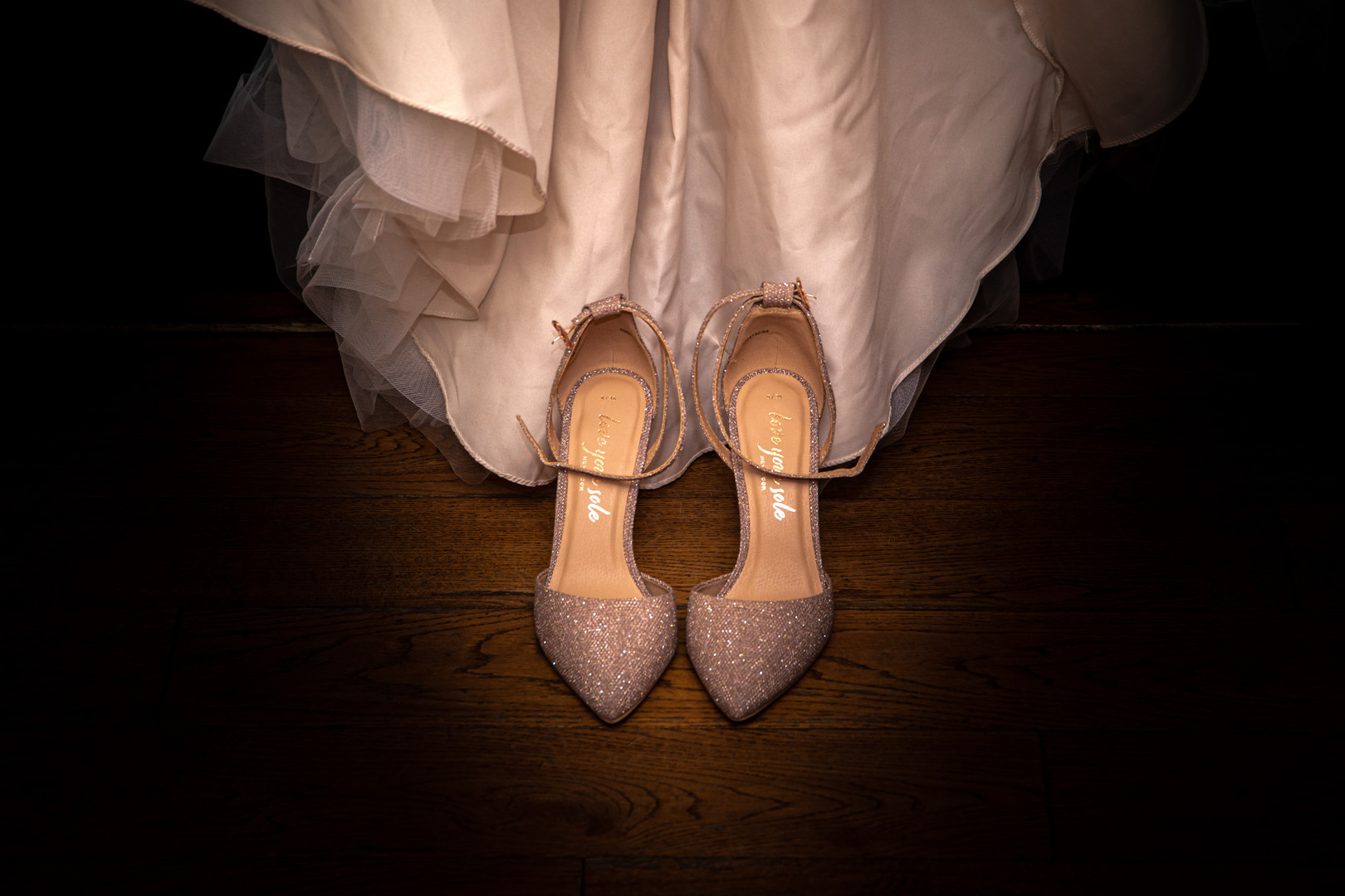 Damien And Gemma - Wedding Dress And Shoes