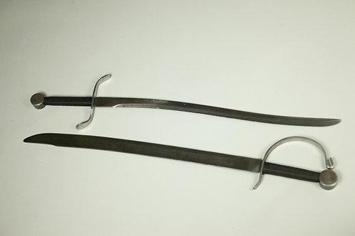 Curve Bladed Swords, Single Edge