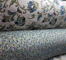 Telas con tonos suaves para tapizado