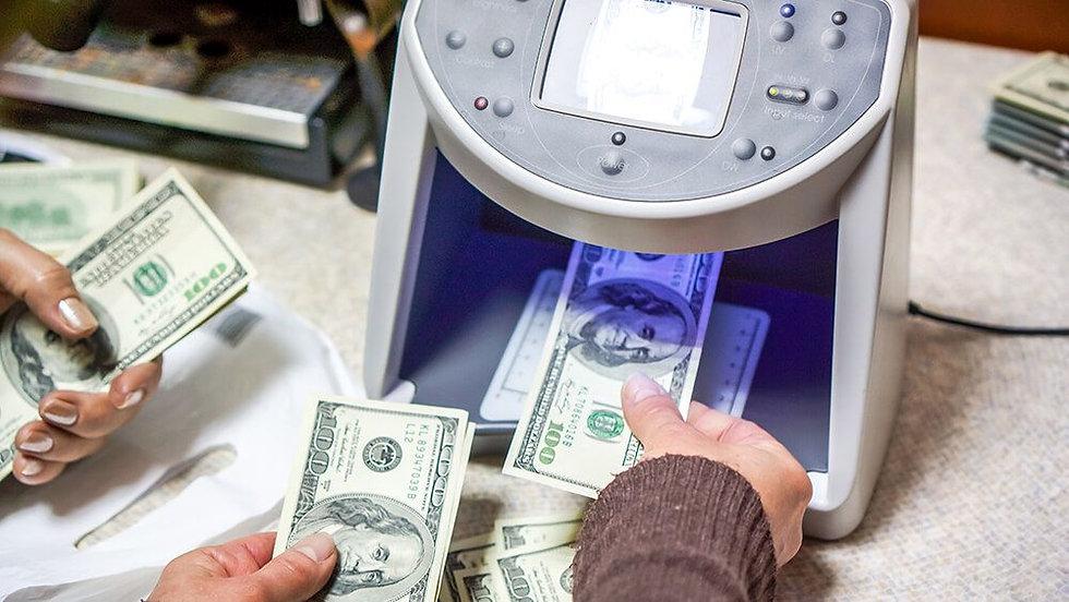 Detector de billetes | American Checkwriters & Office Machines