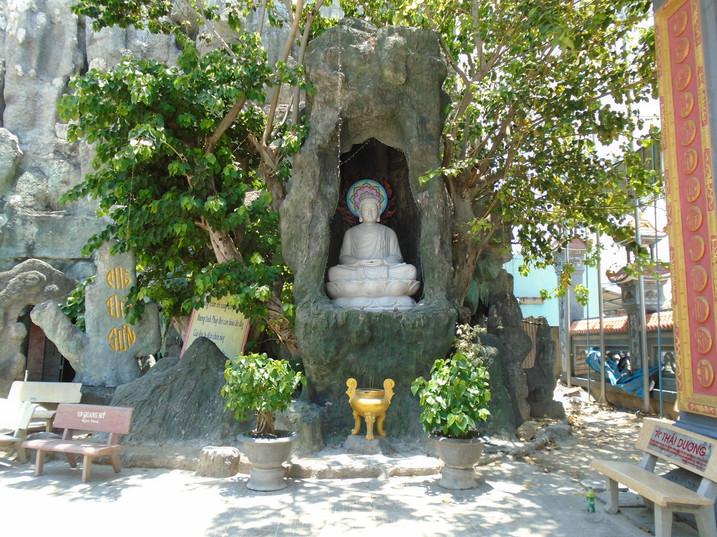 Beautiful religious shrine in Vietnam