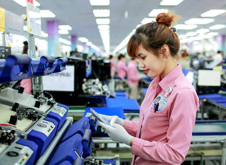 The Samsung investment in Vietnam