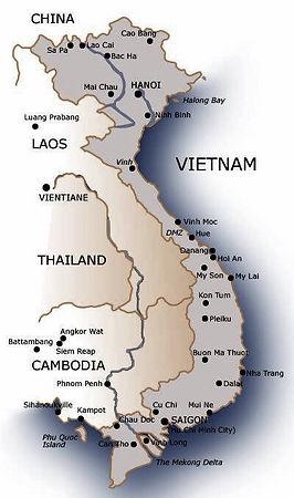 ITS Map Vietnam