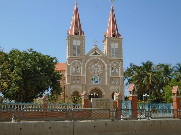 Another beautiful church in Vietnam