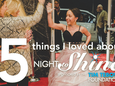 5 Things I loved about Night to Shine