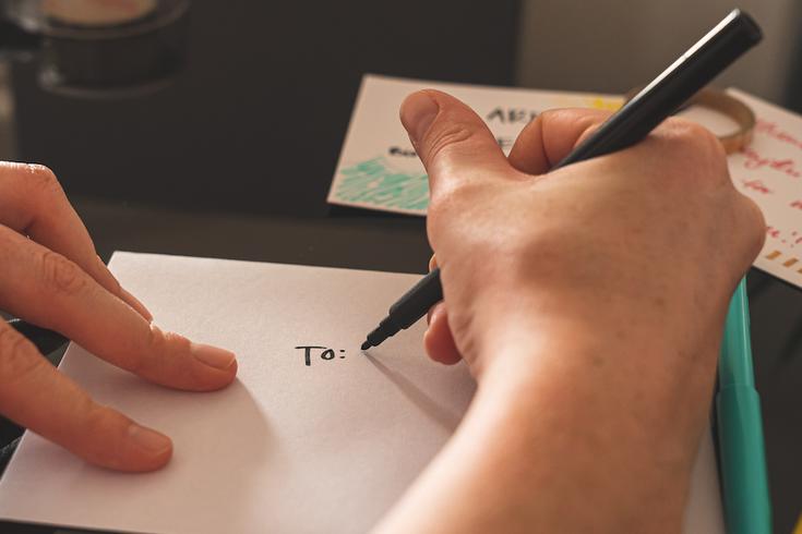 A written note