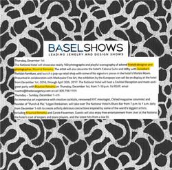 BASEL SHOWS
