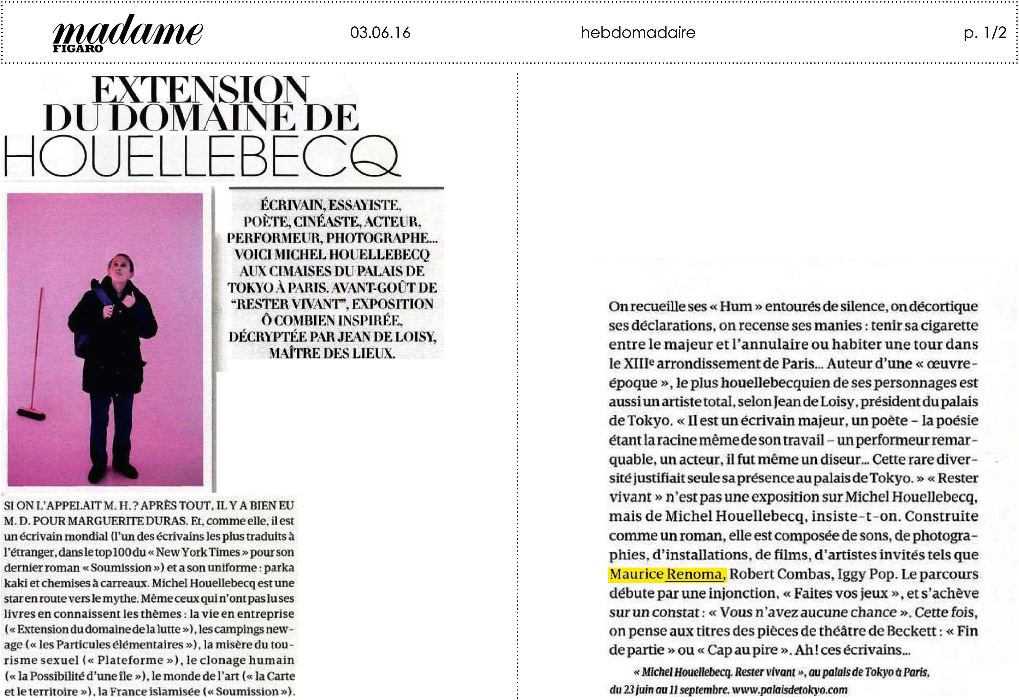 03.06.16 _ Madame Figaro