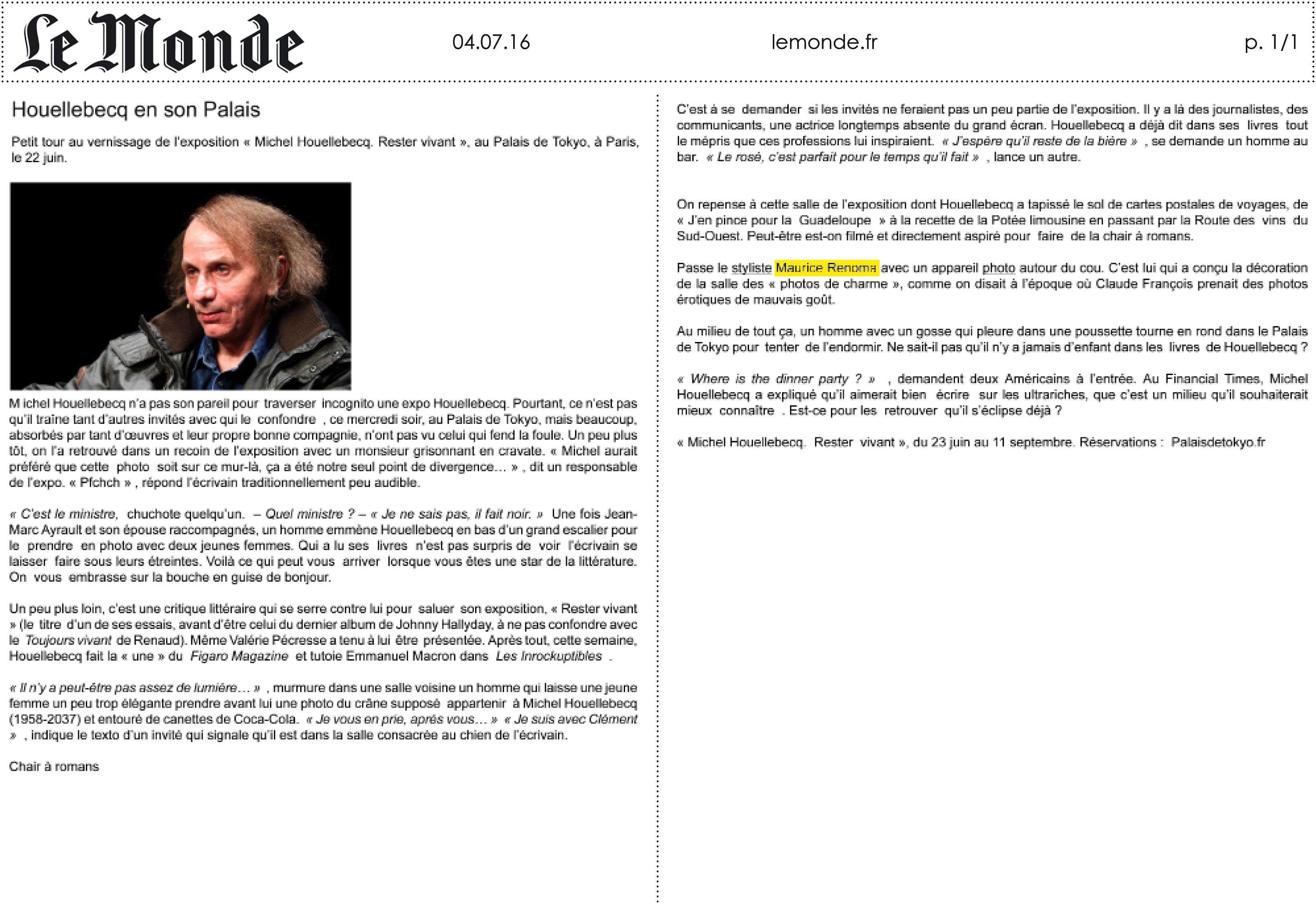 04.07.16 _ Le Monde