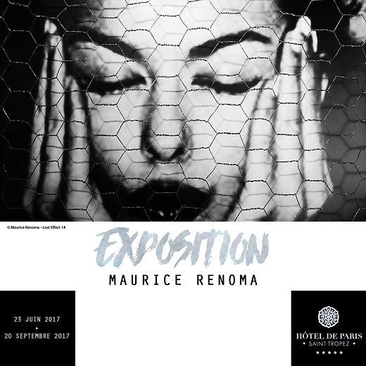 exposition Maurice Renoma Saint-Tropez