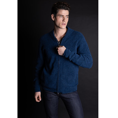 GILET MAILLE COUPE TEDDY