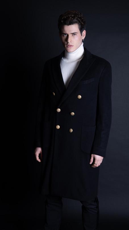 look manteau cachemire