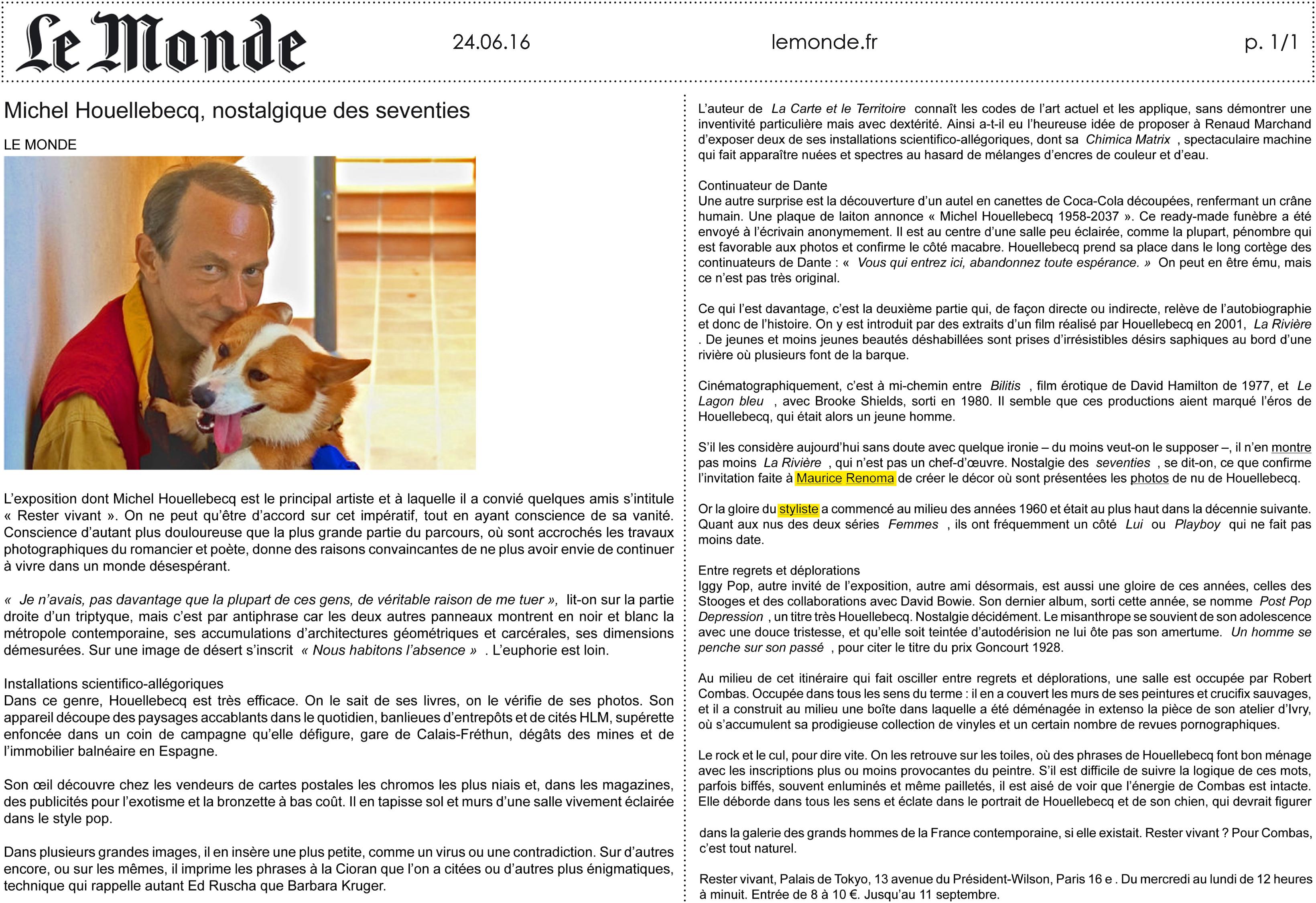 24.06.16 _ Le Monde