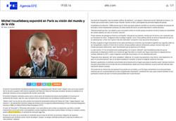 19.05.16 _ Agencia EFE