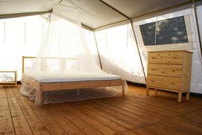 Luxuriöses Zelt