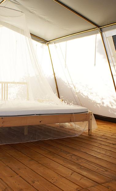 豪華なテント