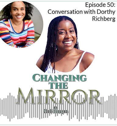 I was featured on Changing the Mirror podcast with Nicole' Thompson. We discussed how God uses the circumstances of our lives to draw us close to Him. He wants us to see ourselves as He sees us.