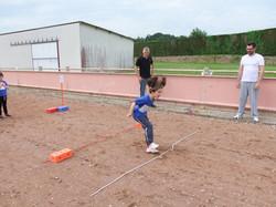 Laura au saut en longueur