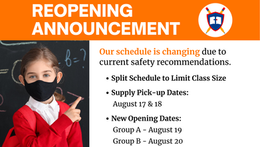 Reopening Announcement