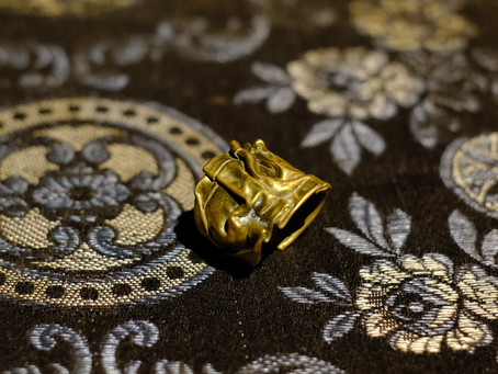 Vintage Brass Art Ring