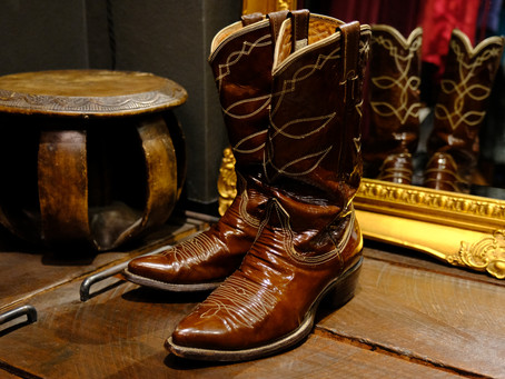 1960's Vintage Western Boots