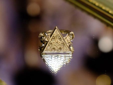 """mundus"" qosmos original ring 14K Champagne Gold"