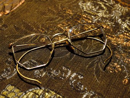 1930's Vintage Eyeglasses 12KGF Full Frame