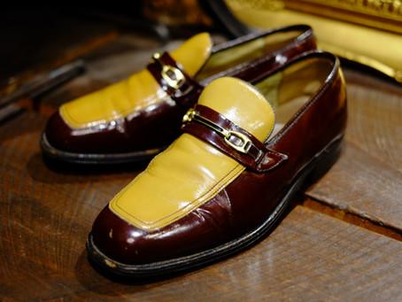 1970's Vintage Enamel Shoes