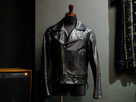 "1990's Vintage Riders Jacket ""Horse Hide"""